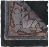 Avant Toi printed scarf - men - Silk/Cashmere - One Size