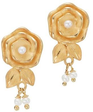 OF RARE ORIGIN Spritz Small Floral Earrings