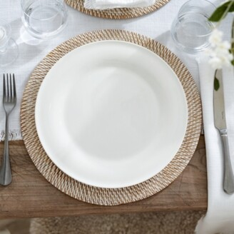 The White Company Symons Bone China Dinner Plate, White, One Size