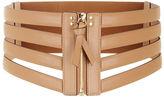 BCBGMAXAZRIA Cage Zip Waist Belt