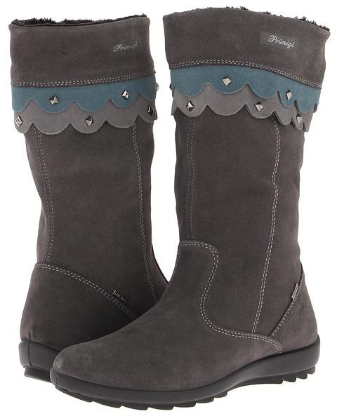 Primigi Cherissa FA13 (Big Kid) (Grey) - Footwear