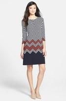 Chaus Zigzag Print Dress