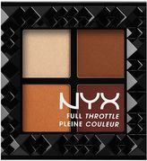 NYX Full Throttle Shadow Palette - Color Riot
