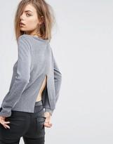 Dr. Denim Everly Fine Knit Split Hem Sweater