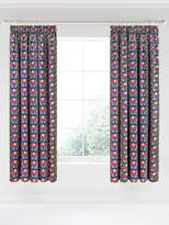 V&A Primula 66x72 Navy Curtains