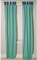 Pam Grace Creations Curtain Panels, Zigzag Elephant, 34 x 84 by