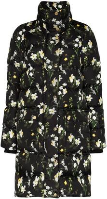 Erdem Daura floral print padded coat