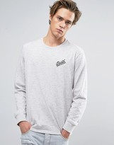Brixton Reggie Long Sleeve T-shirt With Small Logo