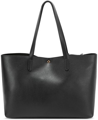 Sole Society Women's Zeda Tote Vegan Natural Leopard Vegan Leather From