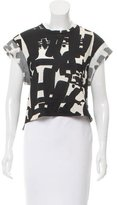Isabel Marant Abstract Oversize T-Shirt