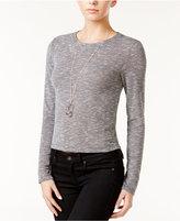 Bar III Marled Knit Top, Created for Macy's