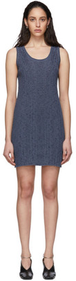 Jil Sander Blue Knit Dress