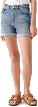 DL1961 Cecilia Roll Cuff Denim Shorts