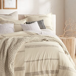 DKNY Pure Marled Stripe Duvet Cover Set, King