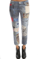 Mother Skinny Not Skinny Fray Jean