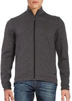 HUGO BOSS Zip Front Sweatshirt
