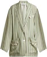 Sonia Rykiel Striped shell-embellished jacket