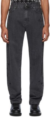 McQ Black Swallow Reggie Jeans