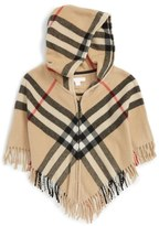 Burberry 'Victoria' Wool & Cashmere Cape (Little Girls & Big Girls)