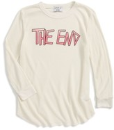 Wildfox Couture Girl's The End Thermal Tee
