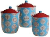 Certified International Spice Route by Daphne Brissonnet 3-Piece Canister Set