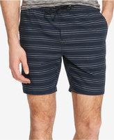 Kenneth Cole New York Men's Stripe Drawstring Shorts