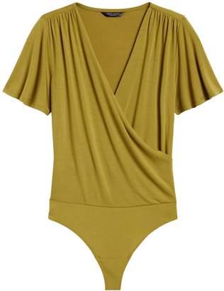 Banana Republic Threadsoft Wrap-Front Bodysuit