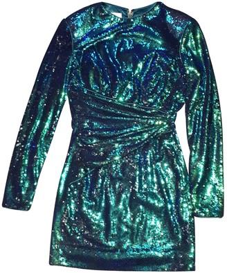House Of CB Green Glitter Dress for Women