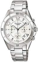 Casio Women's Sheen SHE5021D-7A Stainless-Steel Quartz Watch with Dial
