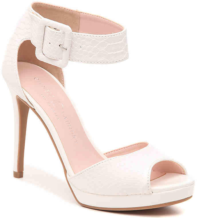 a551ab90d7 Chinese Laundry White Platform Women's Sandals - ShopStyle