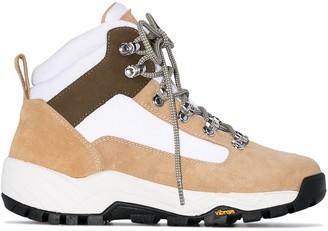 Diemme Beige Cortina suede hiking boots