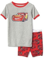 Gap babyGap | Disney Baby Cars Lightning McQueen short sleep set