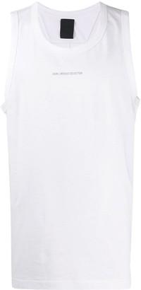 Juun.J Logo Printed Vest Top