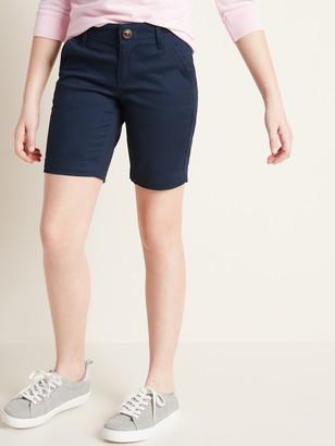 Old Navy Uniform Twill Bermuda Shorts for Girls
