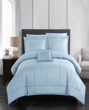 Chic Home Jordyn 8 Piece King Bed In a Bag Comforter Set Bedding
