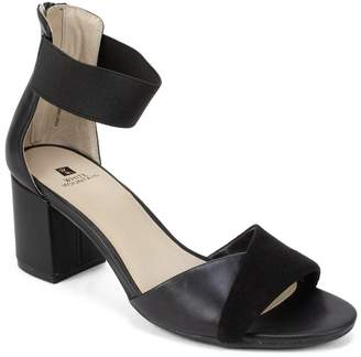 White Mountain Footwear Evie Faux Leather Ankle Sandal