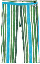Il Gufo Girl slim fit cropped pants