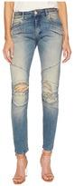 Pierre Balmain Biker Distressed Jeans Women's Jeans