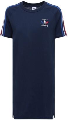 adidas 3-s France Cotton T-shirt Dress