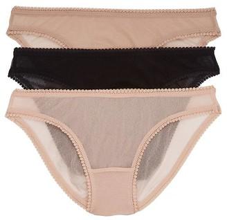 OnGossamer Mesh Hip Bikini 3-Pack