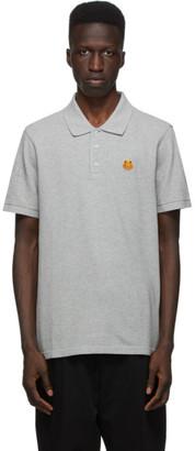 Kenzo Grey Tiger Crest Polo