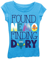 Freeze Turquoise 'Found Nemo Finding Dory' Cap-Sleeve Top - Girls