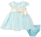 Iris & Ivy Embroidered Ballerina Dress (Baby Girls 12-24M)