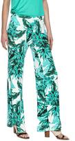 BB Dakota Palm Print Palazzo Pants