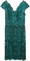 Tadashi Shoji Kannitha sequin embroidered dress