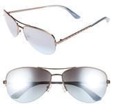 Juicy Couture Women's Black Label 60Mm Gradient Aviator Sunglasses - Brown