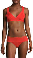 Herve Leger Women's Shoulder Straps Bikini Top