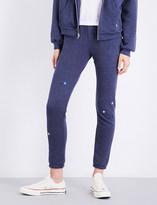 Wildfox Couture Starlet cotton-blend jogging bottoms