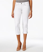 Project Indigo Juniors' Embellished Cropped Jeans