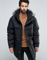 The North Face Mcmurdo2 Down Parka In Black